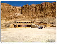 The Temple of Queen Hapshetsut, Egypt