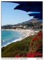 Views from the Cliff Restaurant in Laguna Beach